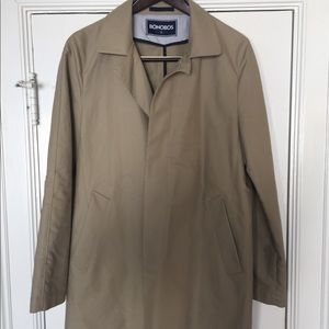 🌟FINAL SALE🌟 Bonobos Beltless Slim Khaki Trench